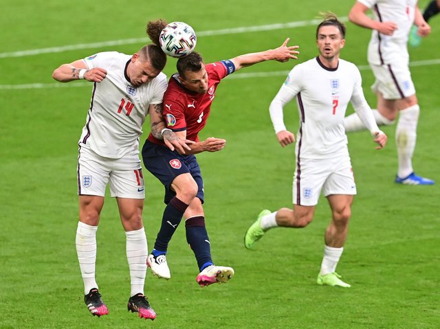 HAPPY BOSS - Leeds United midfielder Kalvin Phillips pleased England manager Gareth Southgate with his performance in the defensive midfield role against Czech Republic. Pic: Getty