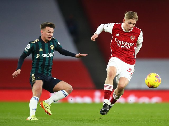 YOUNG HOPEFUL - Jamie Shackleton is considered an important part of Marcelo Bielsa's Leeds United first team squad but struggled to get minutes in the second half of the season. Pic: Getty