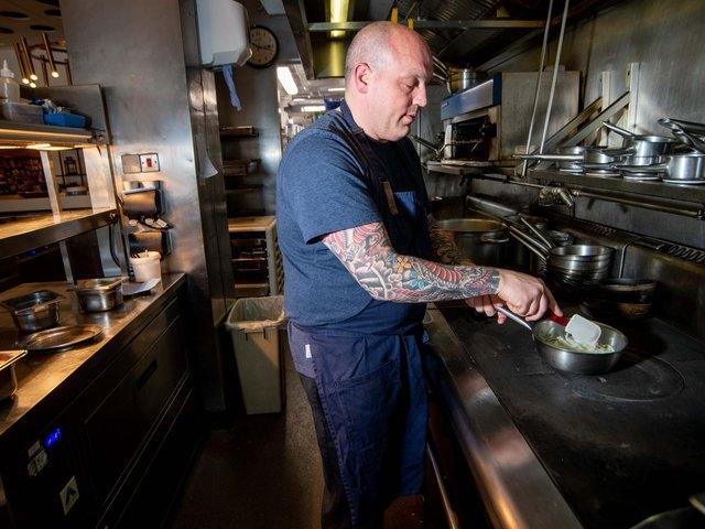 Lee Heptinstall is the head chef at Harvey Nichols Fourth Floor Brasserie (Mark Bickerdale Photography)