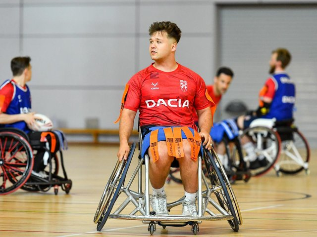 Leeds Rhinos' Tom Halliwell, who will captain England this weekend. Picture c/o RFL.