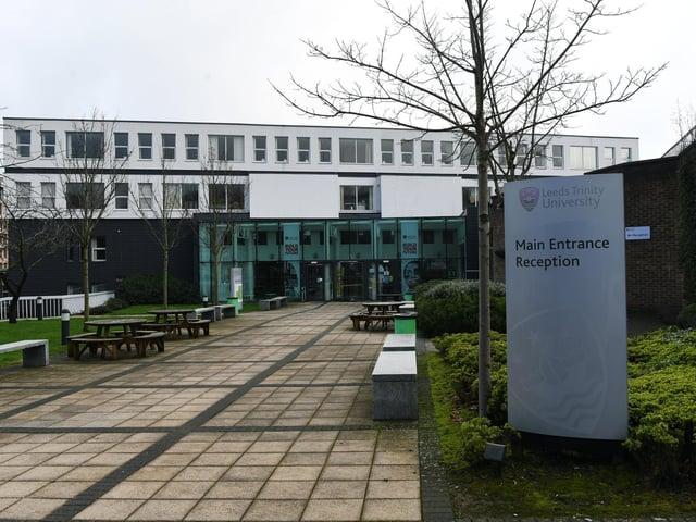 Leeds Trinity University.