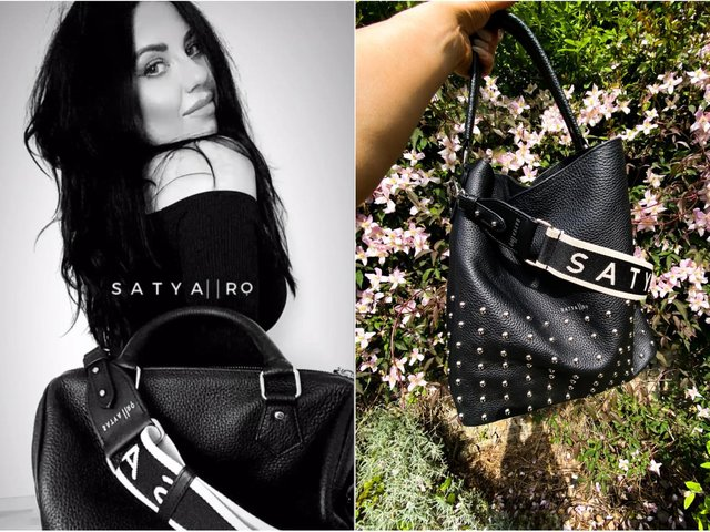 Isabella Cavalli, pictured, launched sustainable handbag business Satya and Ro in lockdown