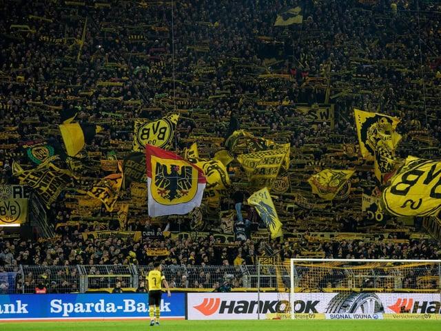 INSPIRATION: Borussia Dortmund's famous Yellow Wall. Photo by Jörg Schüler/Getty Images.