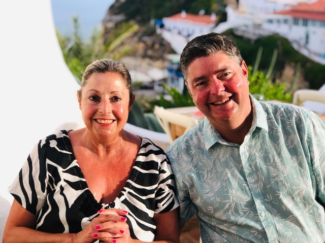 Leeds couple Sue and Sean Flynn own Kalkan Magic based in Roundhay