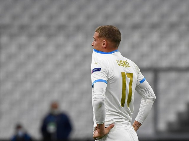DIFFICULT SEASON - After a move to Leeds United fell through Michael Cuisance endured a tough campaign at Marseille. Pic: Getty