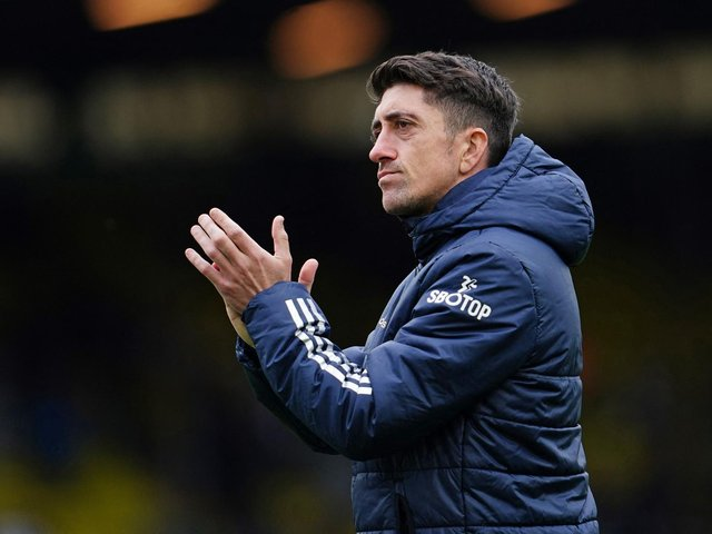 FUTURE PLANS: Outlined by departing modern day Leeds United legend Pablo Hernandez. Photo by JON SUPER/POOL/AFP via Getty Images.