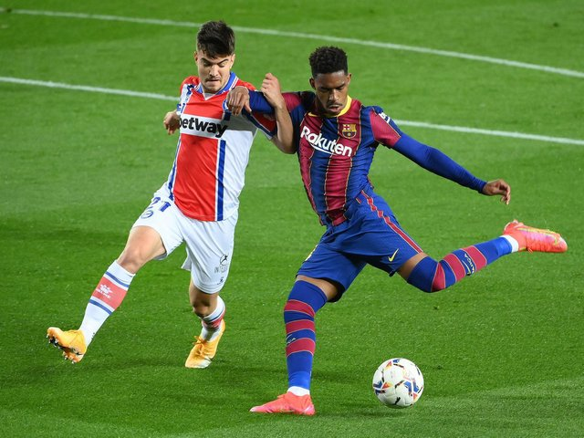 INCREASING NOISE - Reports in Spain suggest Leeds United are close to a deal for Barcelona's Junior Firpo and the Whites are increasingly confident they can get their man. Pic: Getty