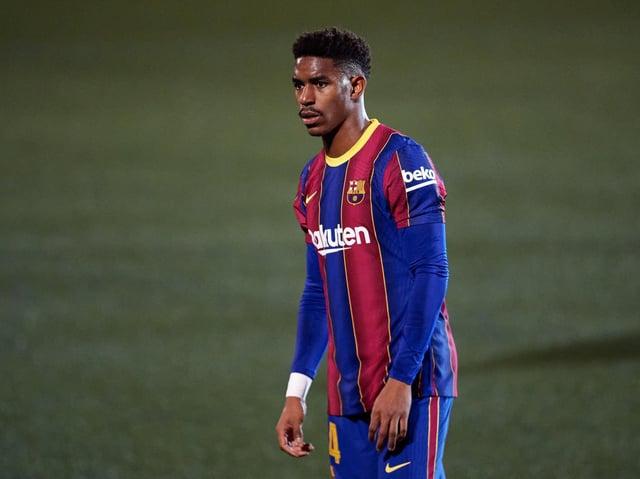 Barcelona defender Junior Firpo. Pic: Getty