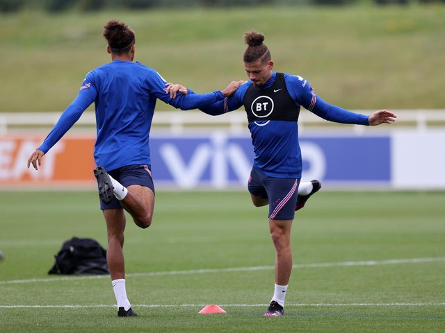 BIGGEST GAME - If Kalvin Phillips gets the nod from England boss Gareth Southgate tonight against Germany it will be the biggest game of the Leeds United man's career. Pic: Getty
