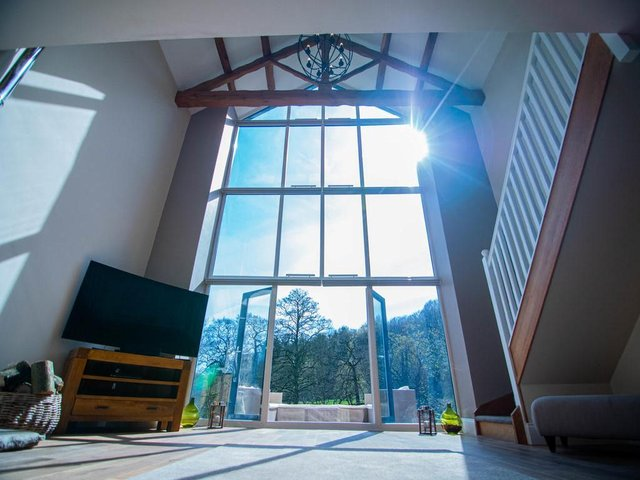 Take a look inside this stunning barn conversion in Adel...