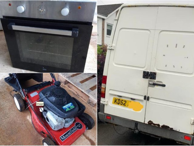 Could this be your oven or lawnmower? The police want to know if these items are stolen (Photo: NYP)