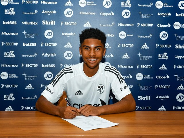 NEW BOY - Amari Miller has joined Leeds United from Birmingham City for an undisclosed fee. Pic: LUFC