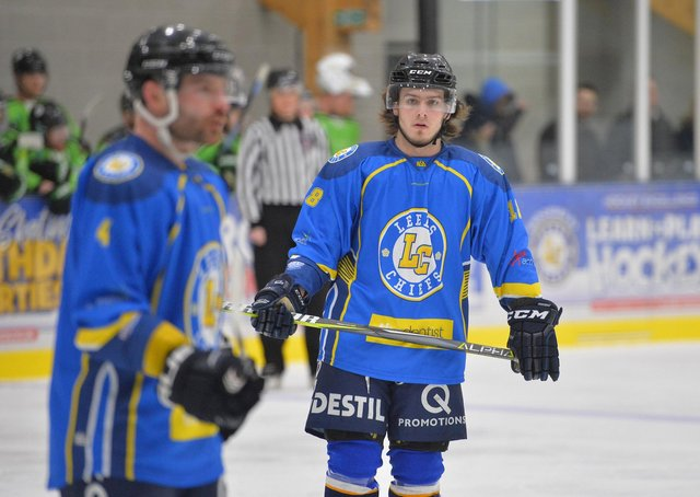 Lewis Houston is keen to get back to West Yorkshire and start practising under Dave Whistle with Leeds knights. Picture: Dean Woolley.