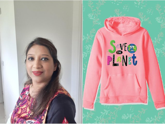 Maria Masud, 40, launched her Kool Kiddos online fashion brand earlier this year