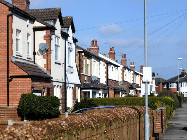 House prices in Yorkshire have reached a 10-year-high, according to the latest statistics. Pictured: Whitkirk.