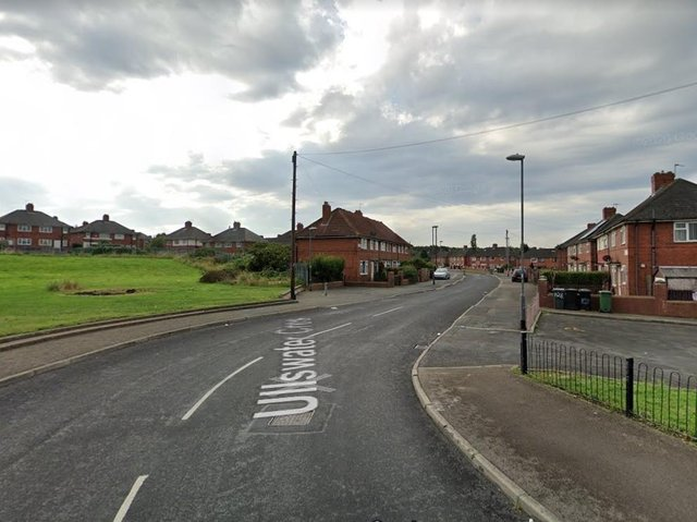Ullswater Crescent, Halton Moor.