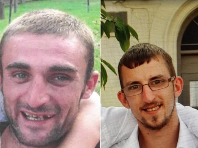 Ian Broadhurst (left) and Matthew Wilson was killed in fatal crash on Bradford Road, East Ardsley.