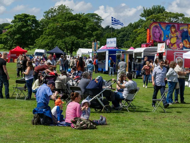 Visitors enjoying the North Leeds Food Festival, pictured in 2017. Photo: James Hardisty