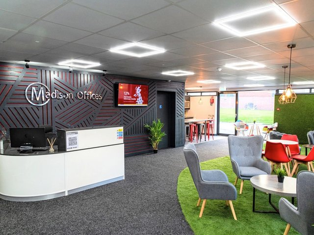 Dezign Space at Madison Offices in Leeds.