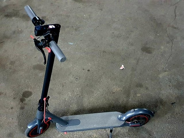 This scooter was seized in Beeston (Photo: WYP)