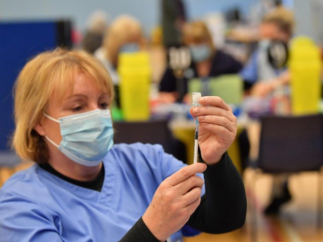 Vulnerable people in the UK may be offered a booster Covid vaccination from September, the Government has announced.
