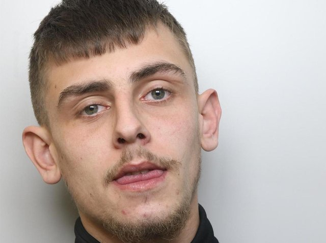 Conor Callaghan was sentenced to three years and three months in prison