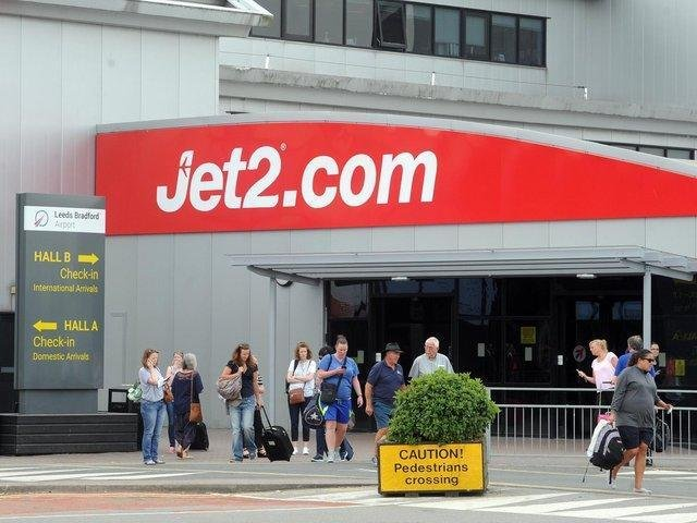 Jet2 has resumed flights to green list countries from Leeds Bradford Airport