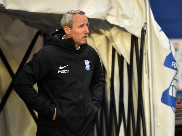 Birmingham City head coach Lee Bowyer. Pic: Getty