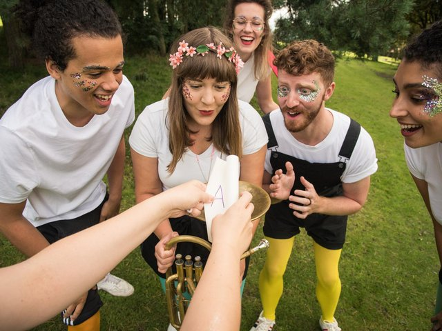 A Midsummer Night's Showcase is a highlights reel of the Bard's best bits to be enjoyed from the comfort of your local park.