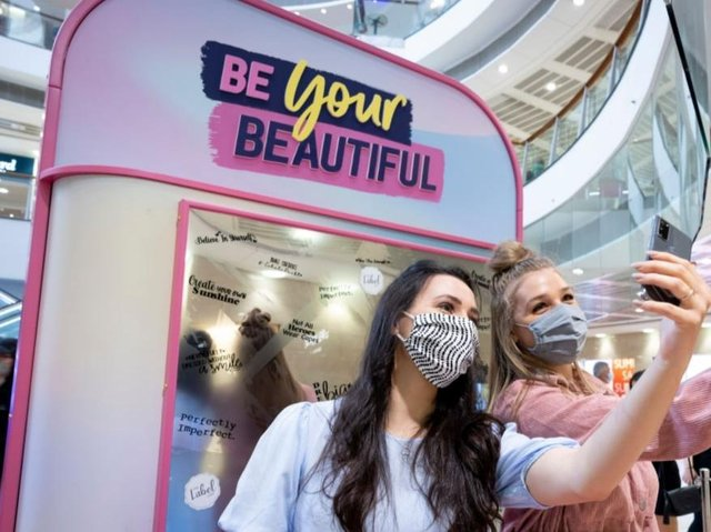 Be Your Beautiful is being held at the Trinity Leeds shopping centre this weekend