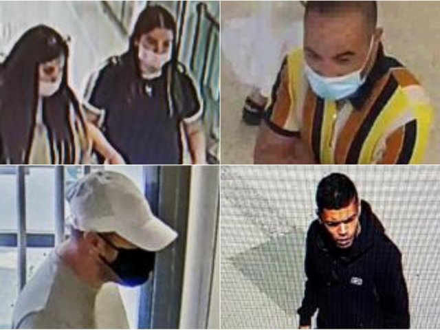 Do you recognise anyone? PICS: West Yorkshire Police