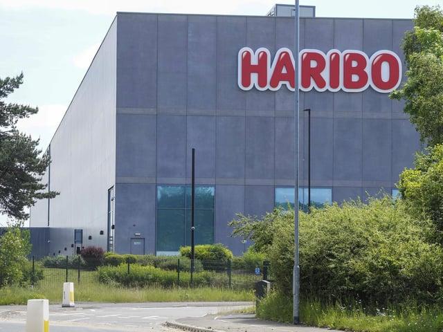 Haribo sweet factory on Whitwood Lane in Castleford. Picture Scott Merrylees