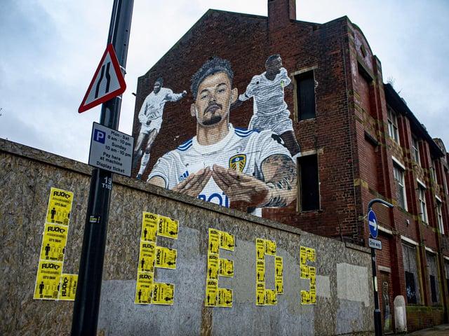 Kalvin Phillips mural, The Calls, Leeds