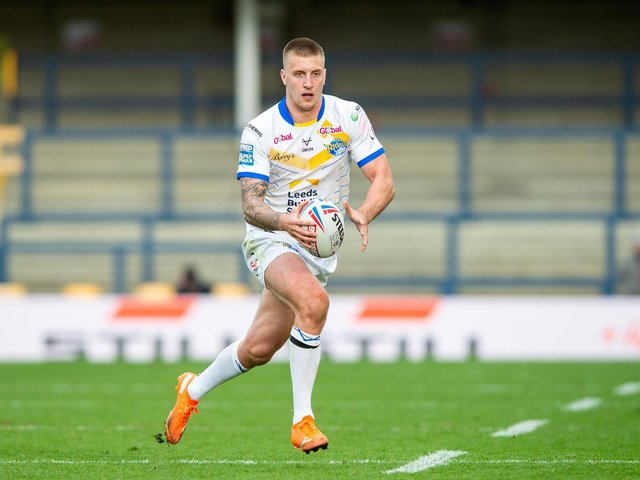 Alex Mellor is available for Rhinos after a one-game ban. Picture by Bruce Rollinson.