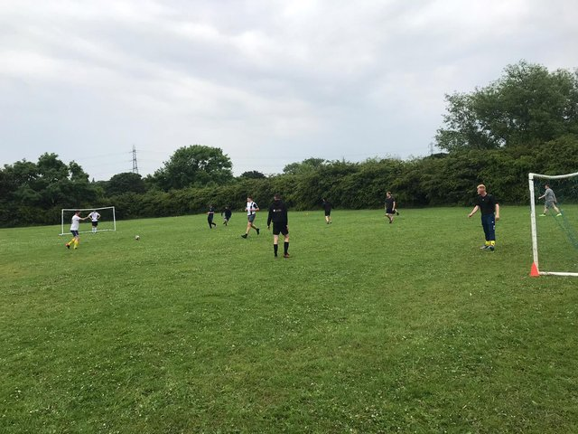 In a a new initiative, the charity has set up a football team - VCS United - to help raise awareness of male mental health.