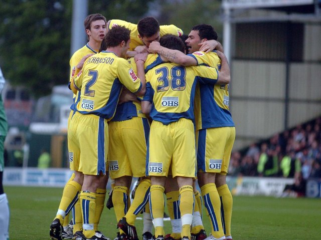 Enjoy these photo memories from Leeds United's 1-0 win at Yeovil Town in April 2008. PIC: Tony Johnson