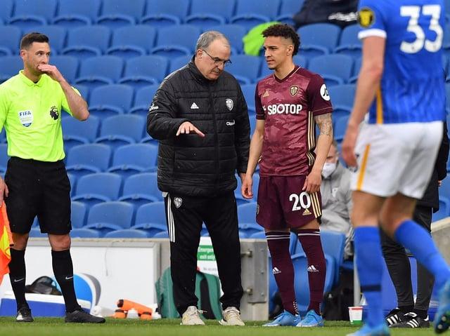 BEST VERSION - Rodrigo wants to show Leeds United fans the best of him in his second season under 'amazing' head coach Marcelo Bielsa. Pic: Getty