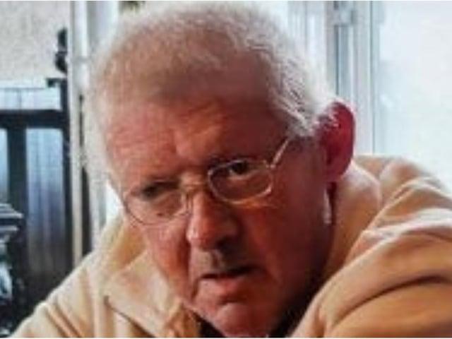 Seamus (James) McLoughlin has gone missing from Kirkstall, Leeds.