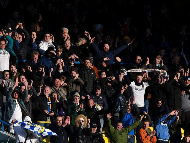 HEADING BACK: Leeds United's supporters are set to finally return to Elland Road in full capacity for the first time since the Championship clash against Huddersfield Town on March 7, 2020. Photo by George Wood/Getty Images.