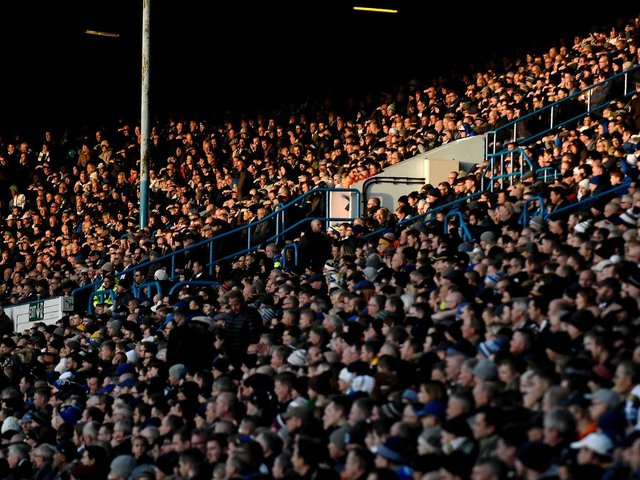 'NORMALITY' RETURNING: To Elland Road, above, as part of the Government's plans to effectively end lockdown. Photo by George Wood/Getty Images.