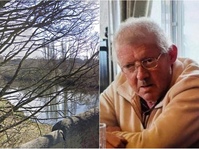 Police searching for missing Seamus McLoughlin have pulled a body from the River Aire.