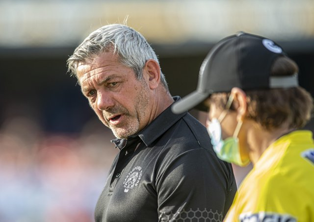 Castleford Tigers head coach Daryl Powell. Picture: Tony Johnson.