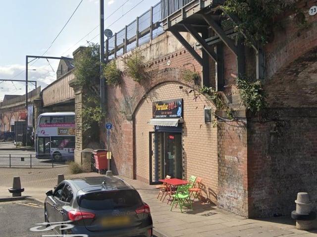 Paradise Grill, Railway Street.