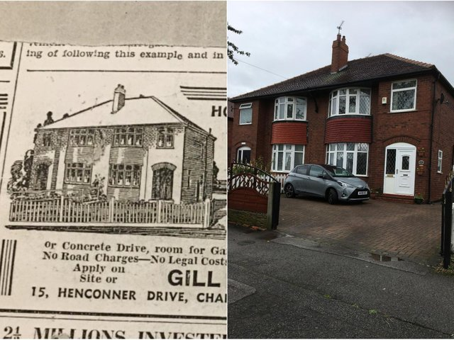 Julie Whitaker said the unbelievably preserved advert for her home on the Ring Road, Cross Gates, has been passed down from generation to generation for the past 84 years.