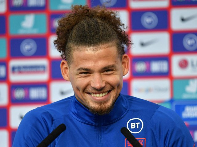 Leeds United and England midfielder Kalvin Phillips. Pic: Getty
