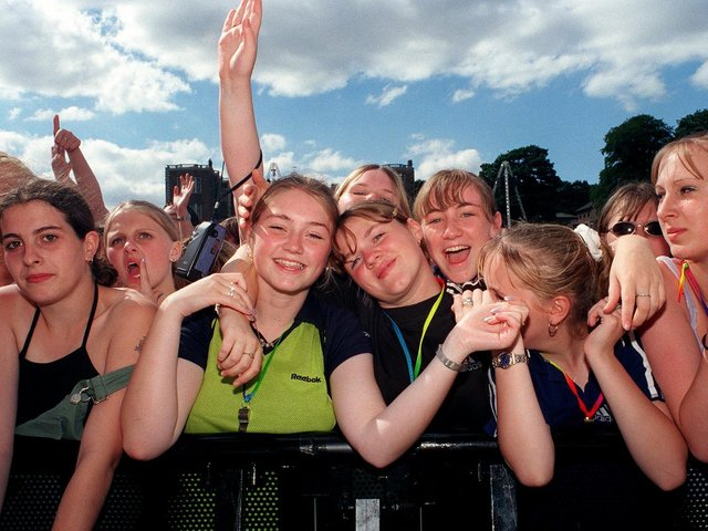 Enjoy these photo memories of Party in the Park from the 1990s. PIC: James Hardisty