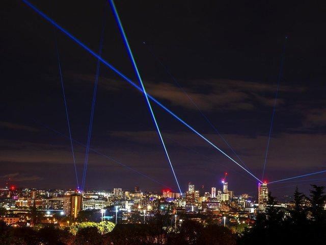 Light Night Leeds 2020 (photo: Tony Johnson).
