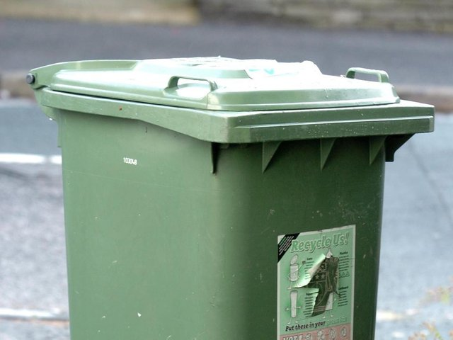 """The council said """"whilst every effort is continuing to be made to ensure that all brown bin collections are undertaken on the appropriate day"""", the emptying of black and green bins """"continues to be the priority"""" for the service."""