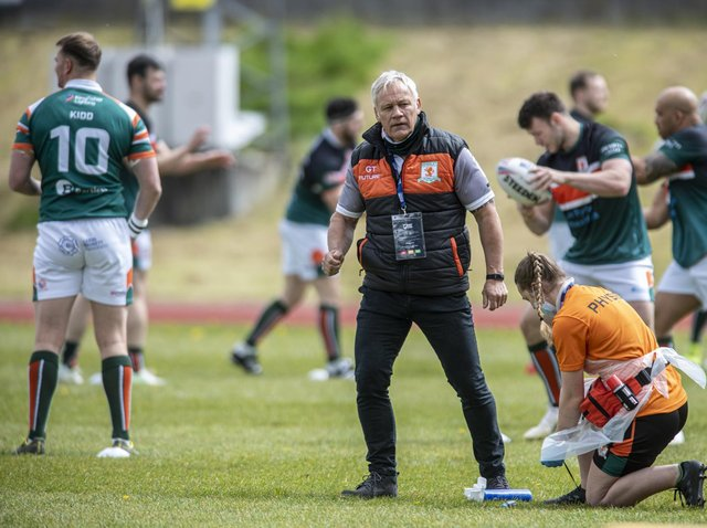 Gary Thornton was sacked after Hunslet's defeat at Coventry. Picture by Tony Johnson.