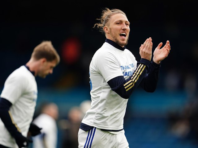 BACK TO IT: Leeds United and Luke Ayling, above. Photo by Jon Super - Pool/Getty Images.